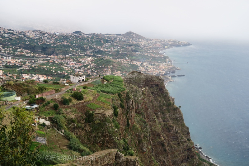 View from Cabo Girao Cliffs and Skywalk Madeira