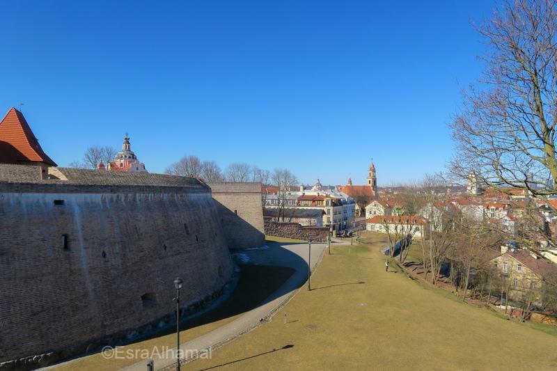 Old City Wall, Vilnius