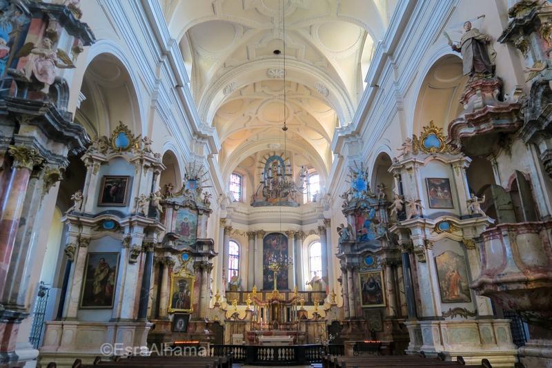 Church Interior in Vilnius