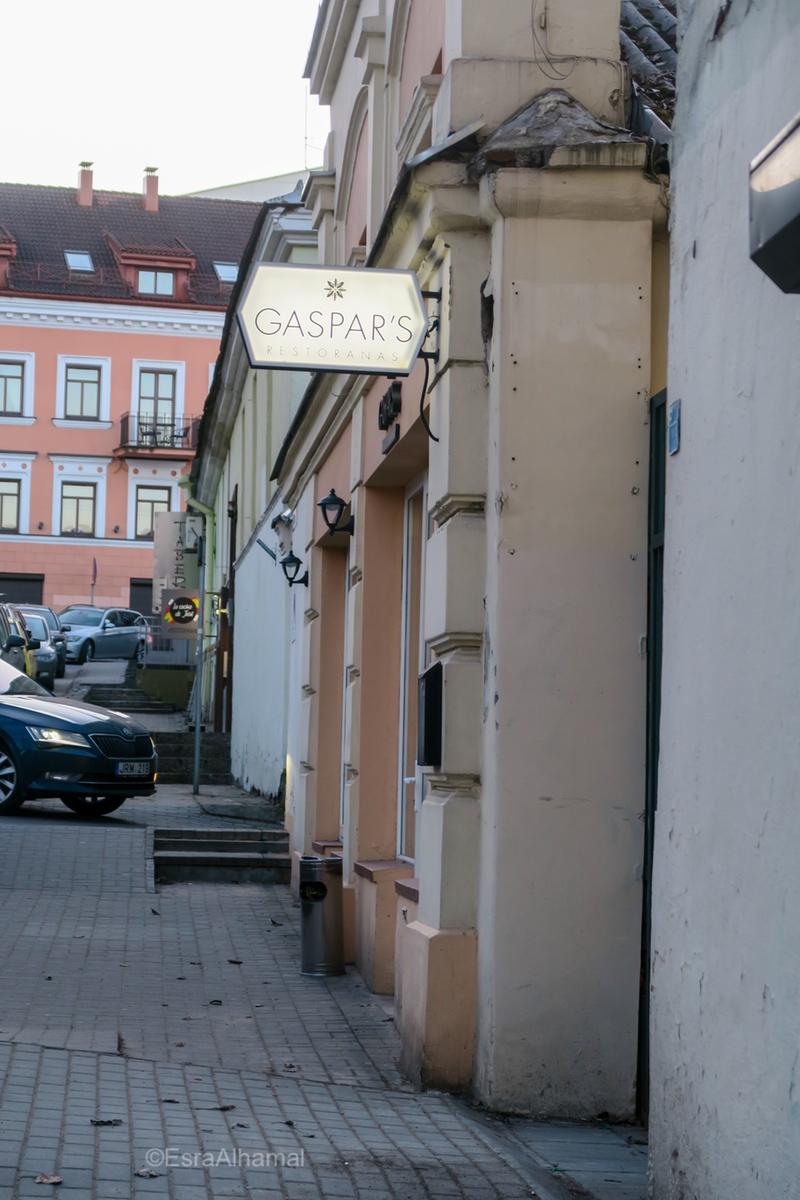 Gaspar's in Vilnius