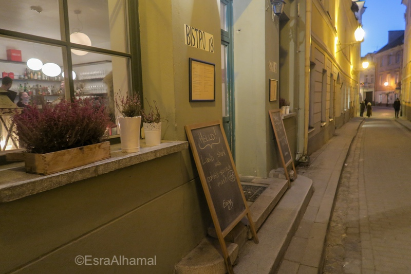 Top Vilnius Restaurants Bistro 18