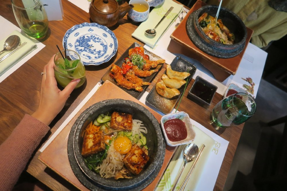 Korean Bibimbap in London near King's Cross