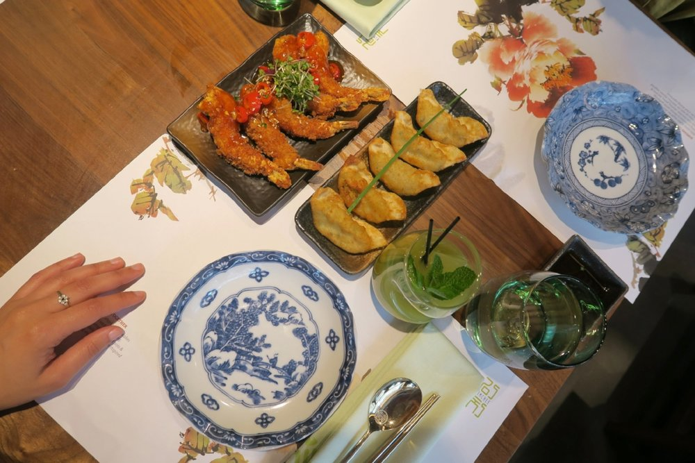 Korean Starters in London