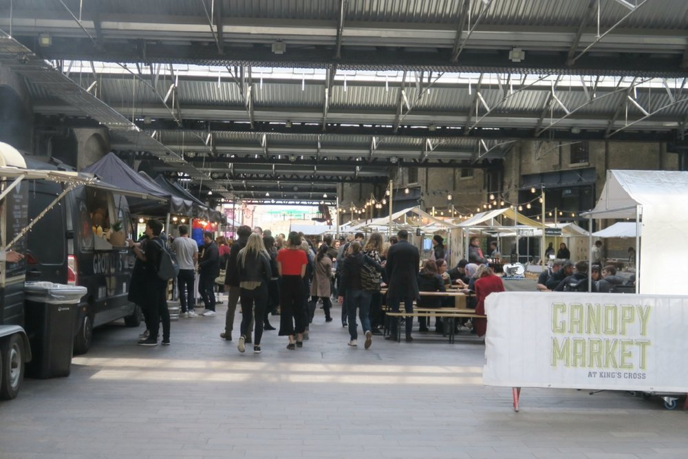 Food Market near King's Cross