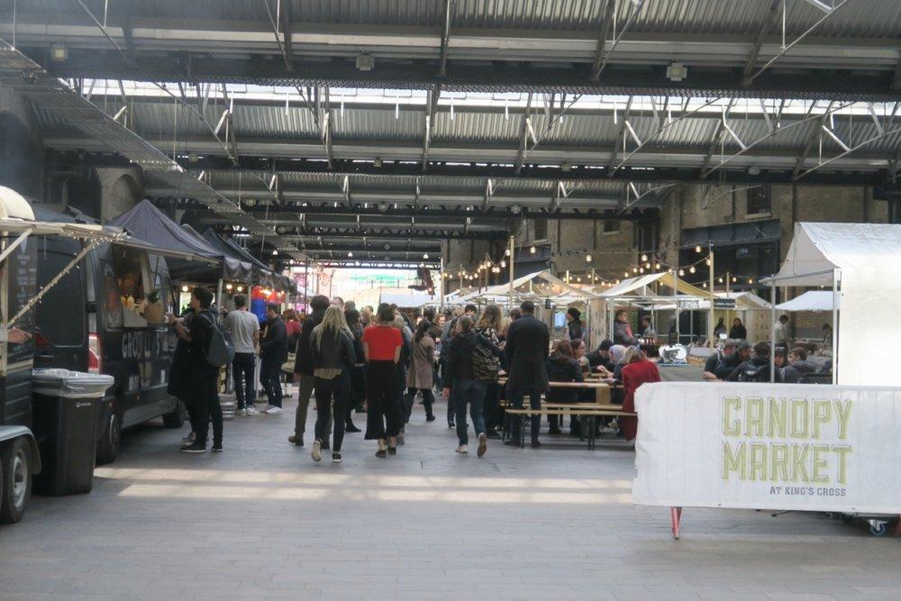 Food Market near King's Cross