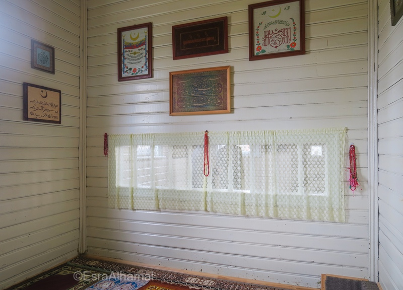 Inside women section of Nemėžis mosque near Vilnius- Muslims in Lithuania - European Muslims