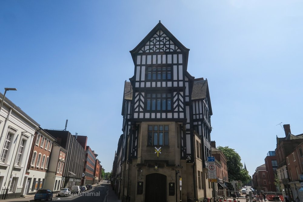 Tudors architecture in Leicester