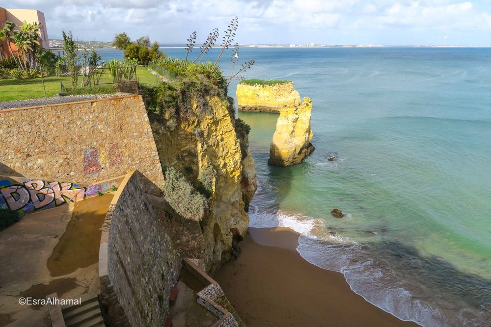 Beaches and cliffs in Lagos, Algarve