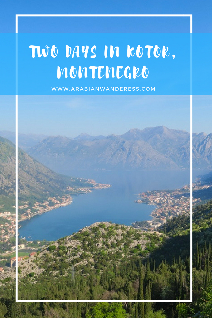 Two Days in Kotor, Montenegro