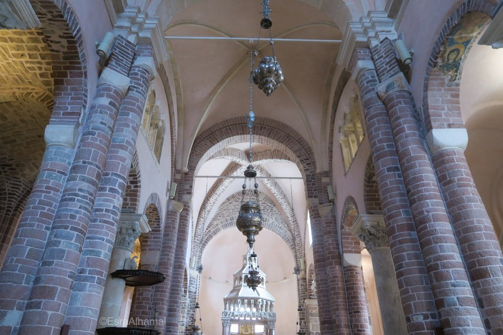 Inside Church, Kotor, Montenegro