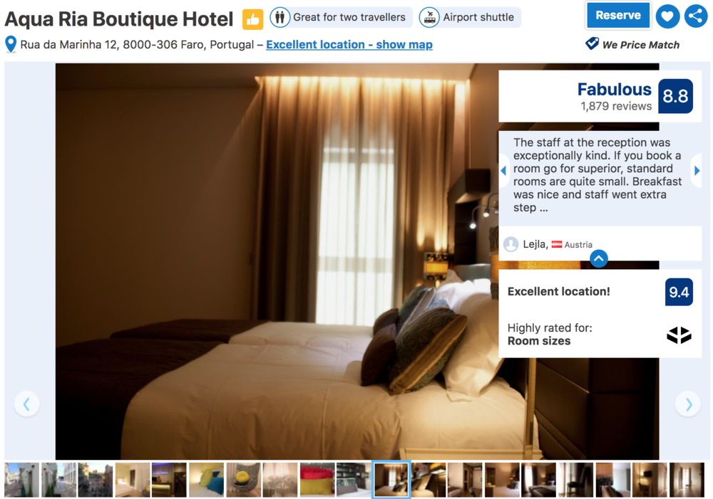 Boutique Hotel in Faro