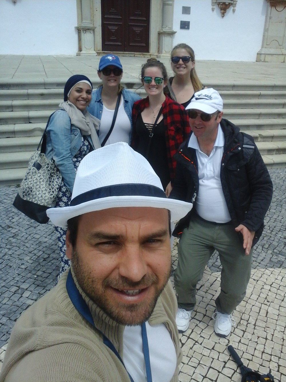 Group selfie with the walking tour