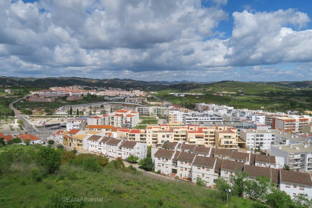 View from Silves Moorish Castle, Portugal