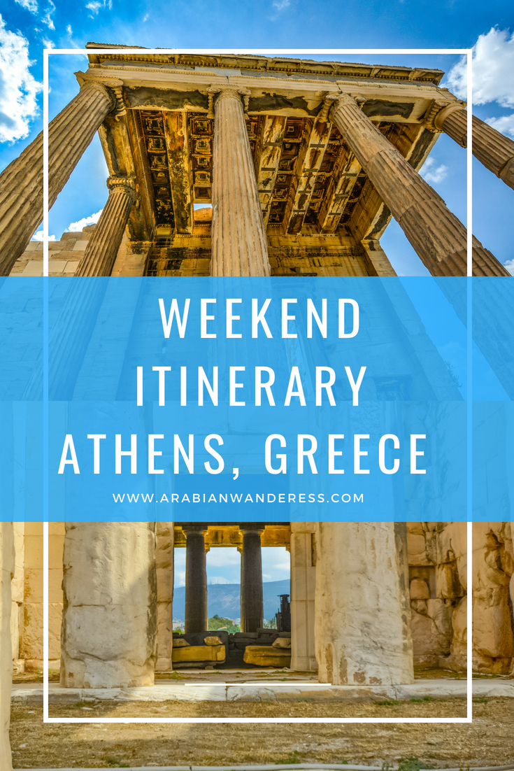 Weekend itinerary to Athens, Greece