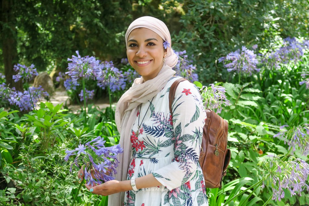 - Arabian Wanderess is a travel blog curated by Esra Alhamal, a Muslim millennial travelling and living mindfully on a budget . She is currently focusing on travels in the United Kingdom, Europe and the Middle East. The posts are a mix of useful travel guides and Esra's own personal journey and travel discoveries as an Arab, Muslim woman.