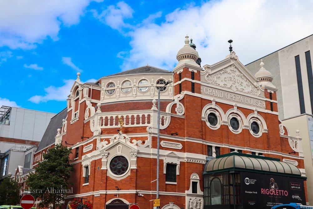 Opera House in Belfast