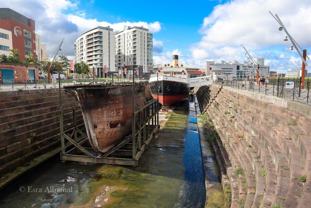 SS Nomadic Ship in Belfast