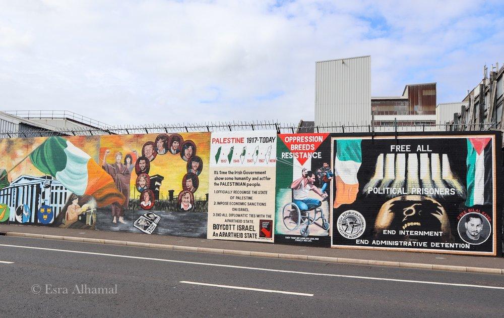 Freedom Wall in Belfast