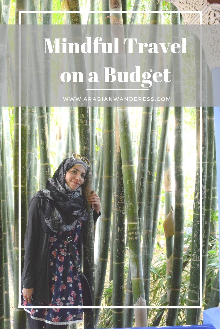 Mindful travelon a budget