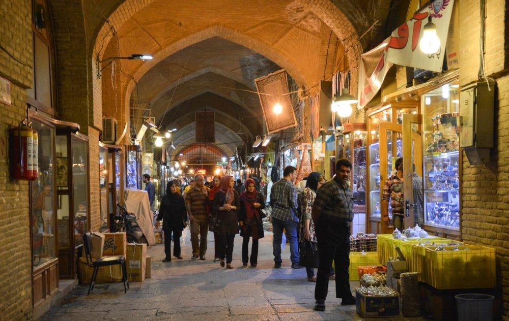 Shopping in Iran