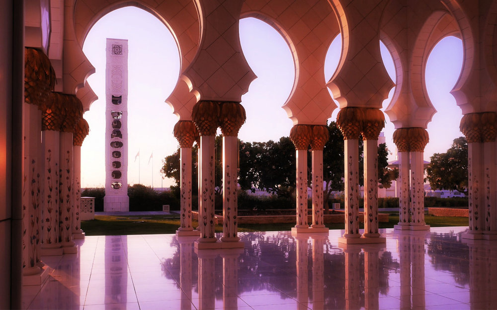 The Grand Mosque. Image credit Keri Hedrick – Our Globetrotters