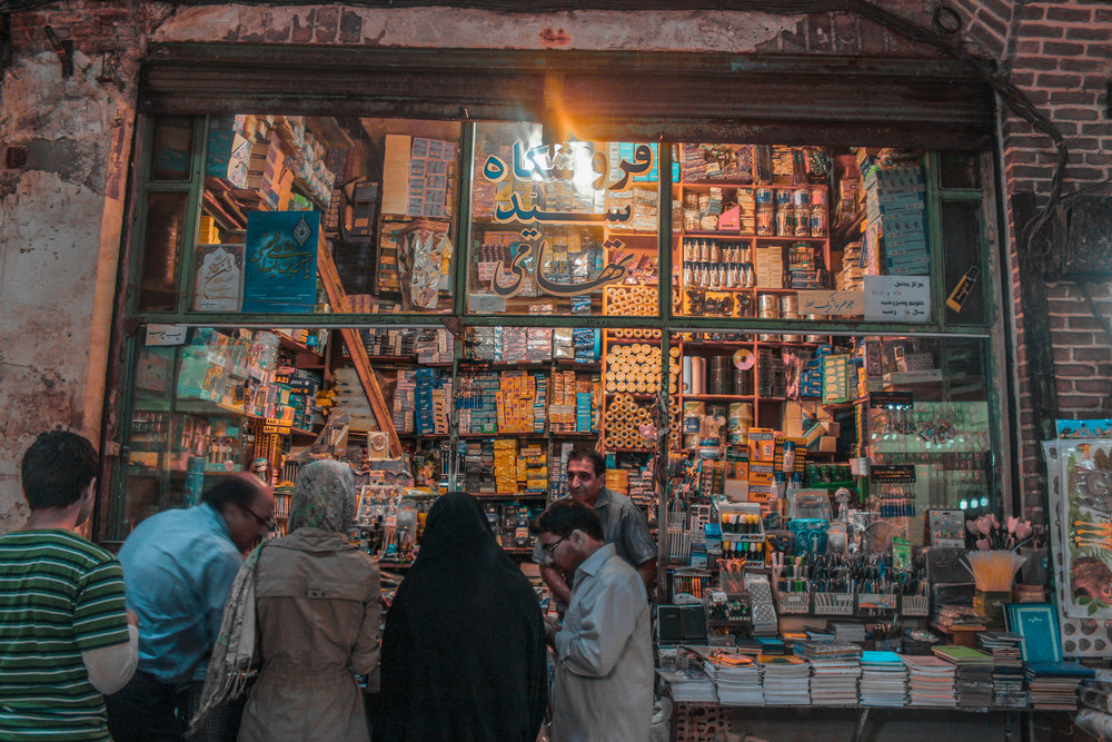 Shopping in Tabriz Iran