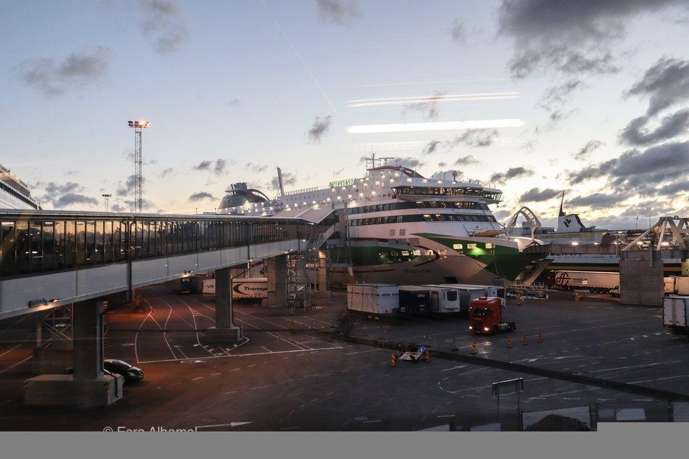 Using the Megastar ferry from Tallinn to Helsinki