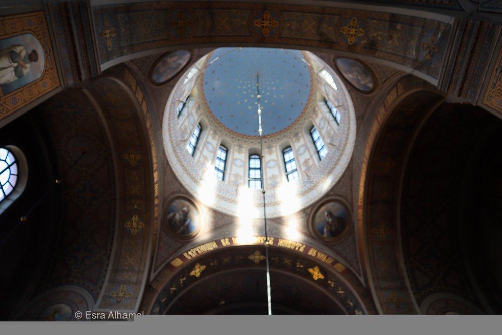 Inside Uspenski Cathedral, Helsinki