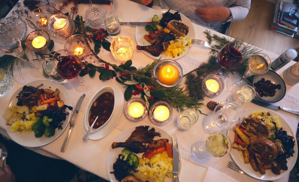 Homemade Christmas Dinner