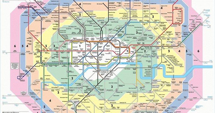London Travelcard Zones 1 6 Map | Joshymomo.org on