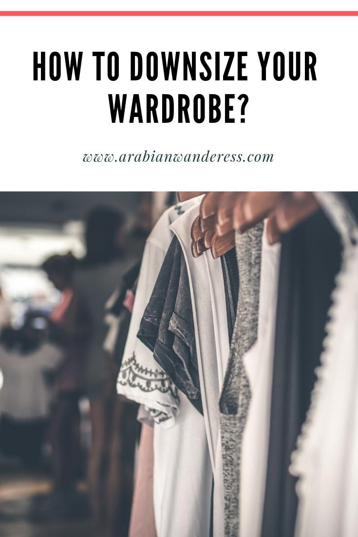 How travel helped me downsize my wardrobe?