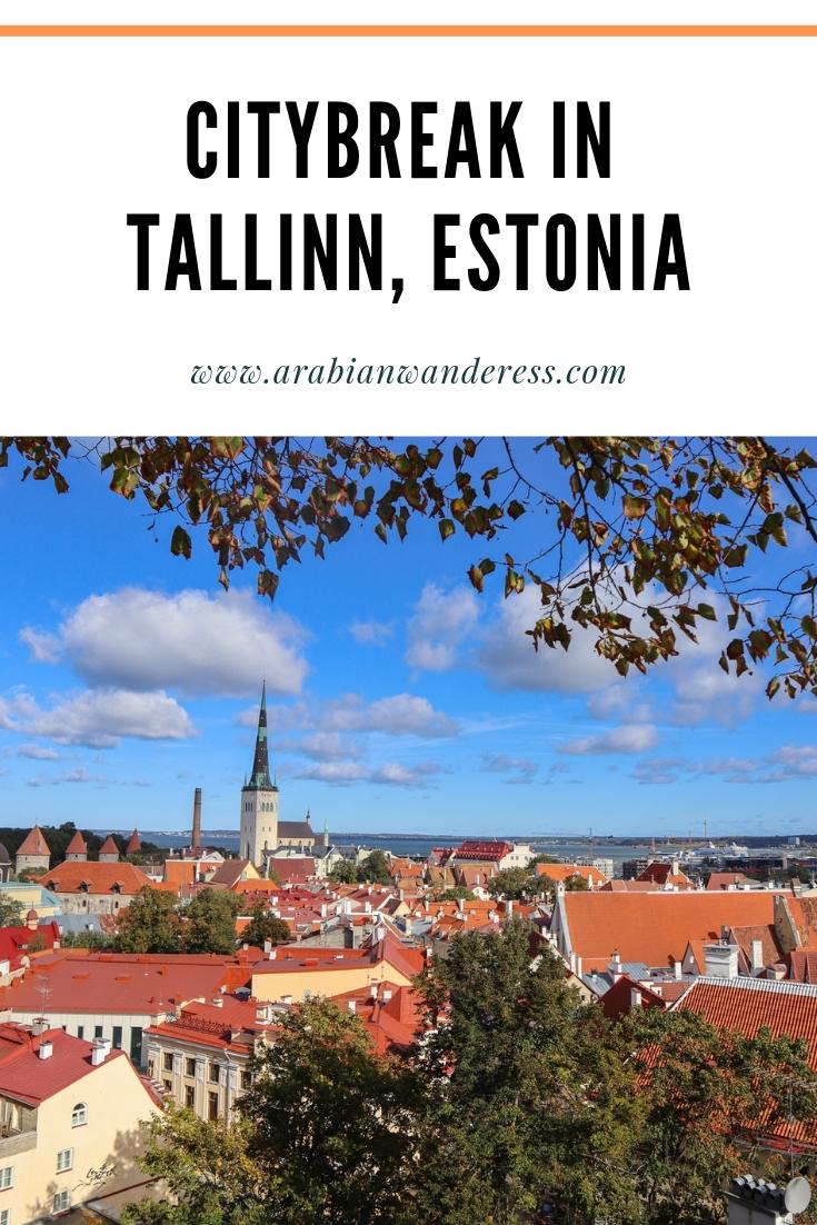 Citybreak in Tallinn, Estonia