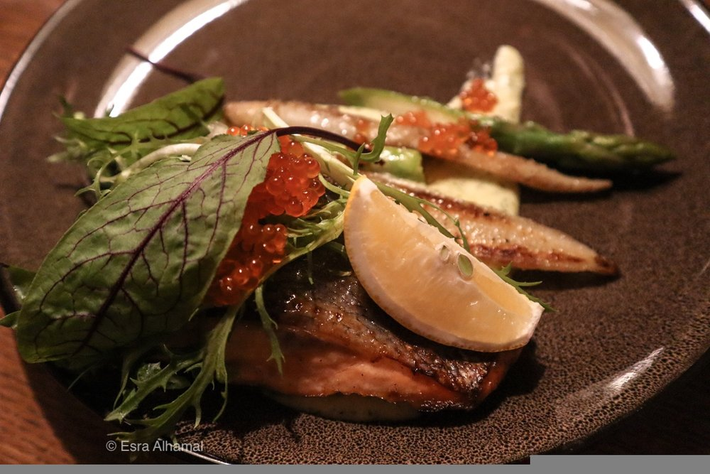 chef's choice of pan-fried white fish