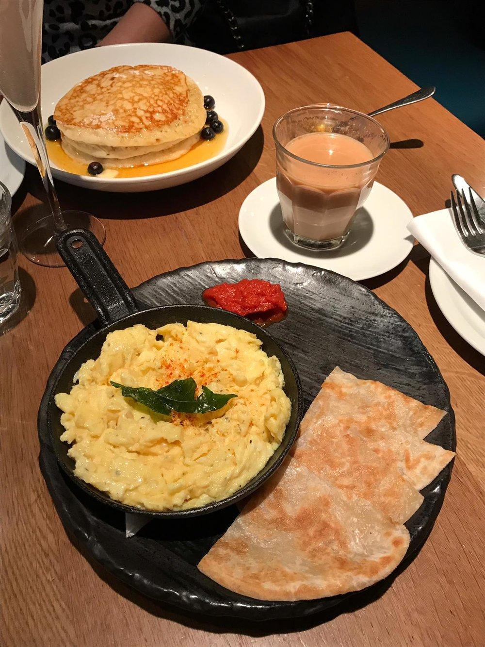 Chai Kai Breakfast in Canary Wharf