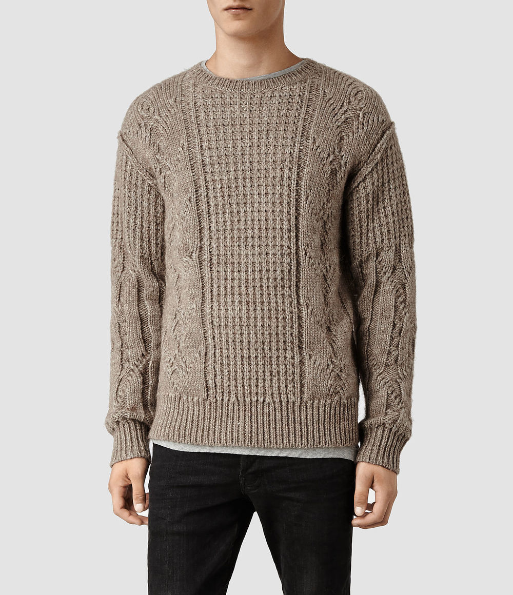 Mens Loch Crew Jumper