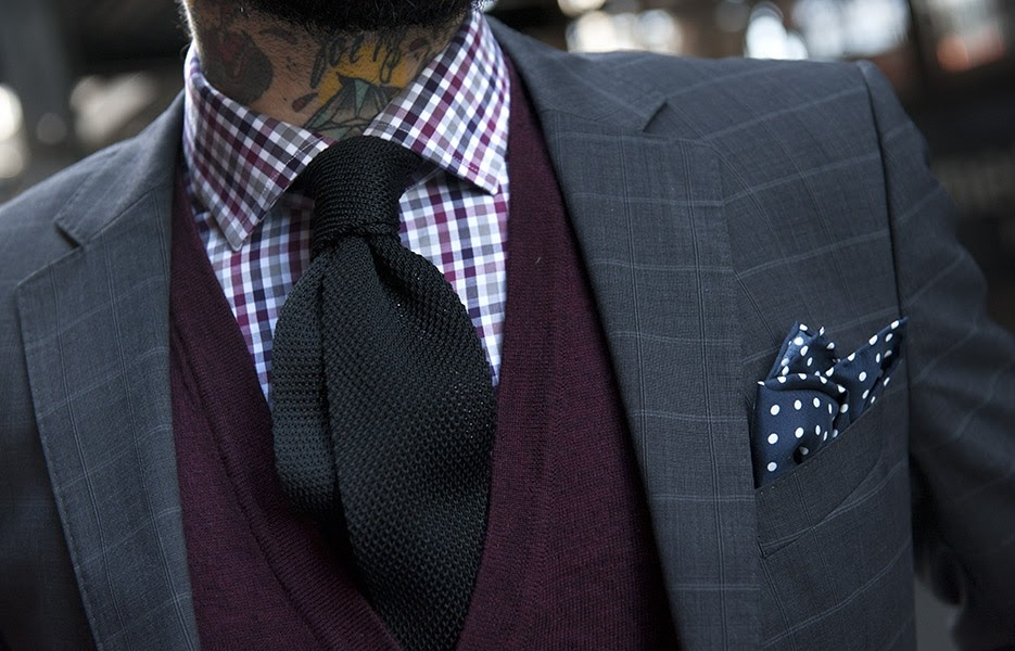 charcoal-windowpane-check-dotted-pocket-sqaure-knitted-tie.jpg