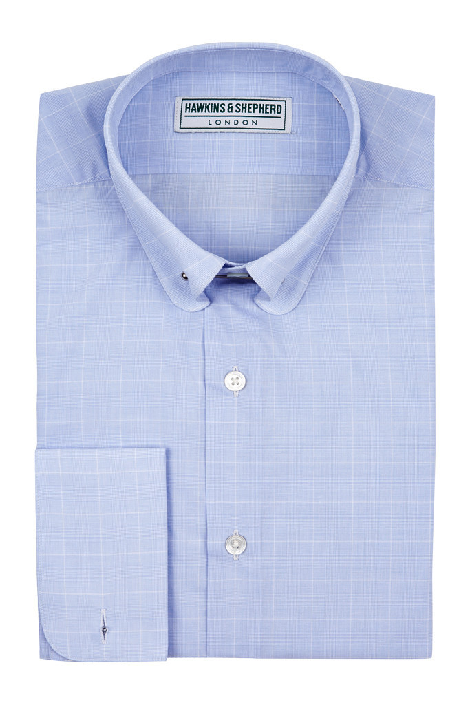 Hawkins & Shepherd - Prince of Wales Check Shirt