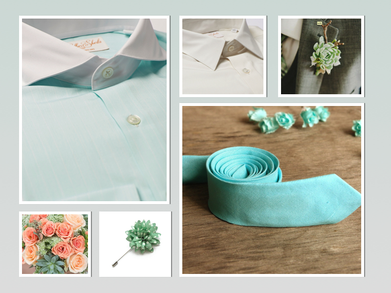 Men's Mint Themed Wedding.jpg
