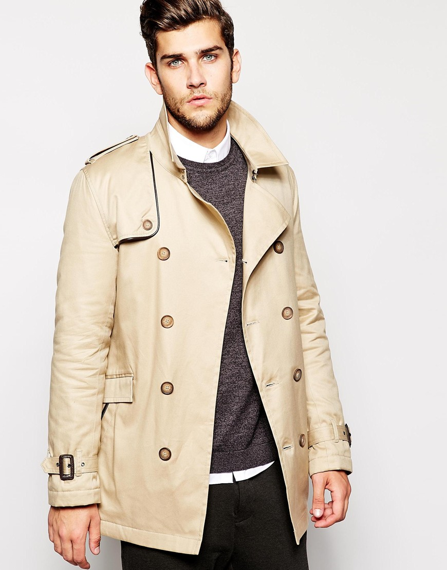 ASOS Belted Trench Coat