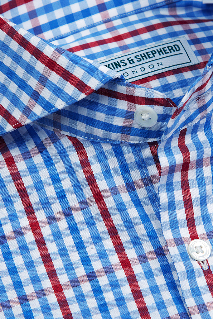 Hawkins & Shepherd Gingham Check Shirt