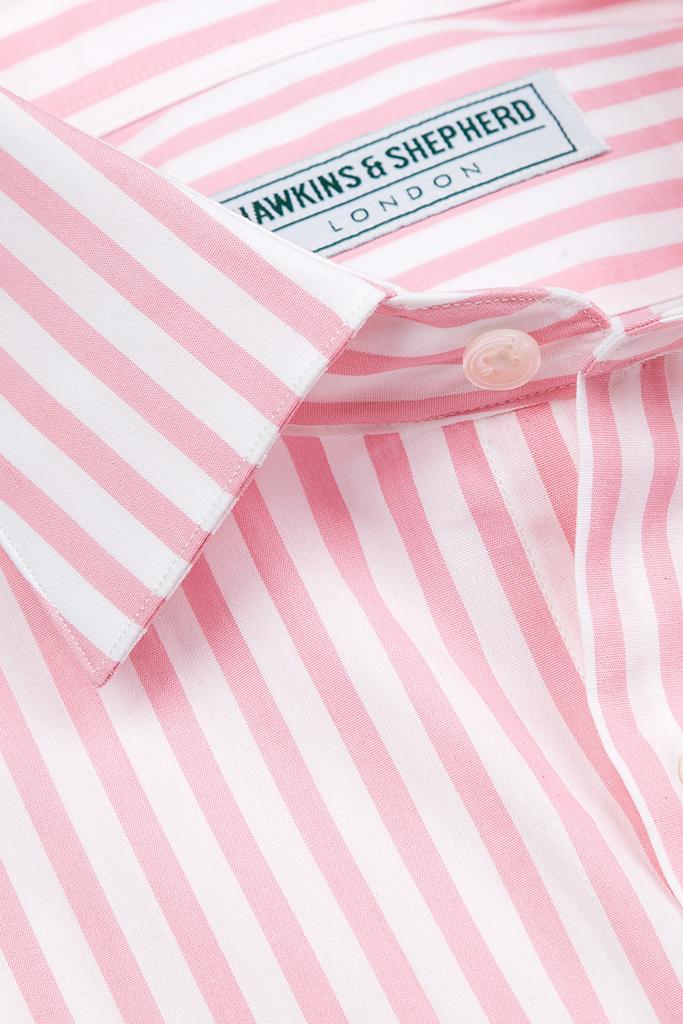Hawkins & Shepherd Pink Stripe Shirt