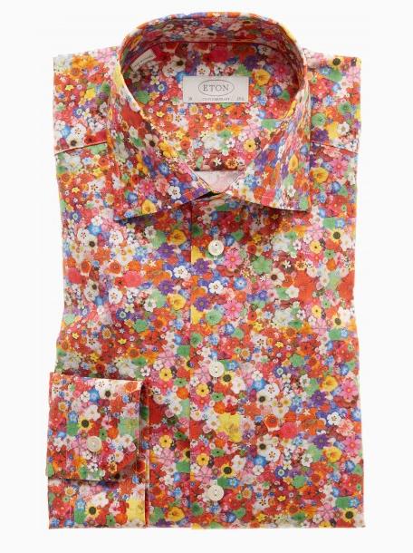 Eton Shirt Floral Print