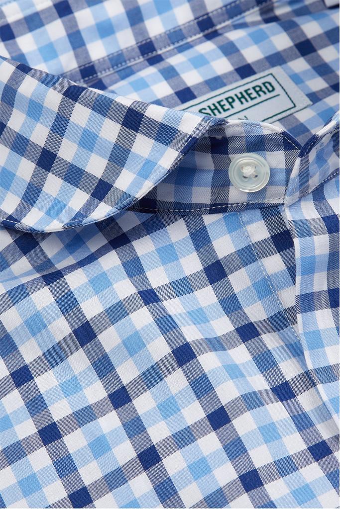 Hawkins & Shepherd Gingham Check Shirt