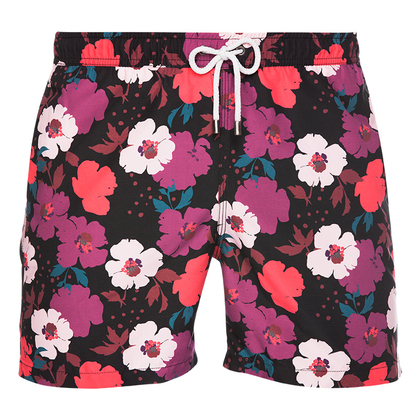 Men's Pattern Print Swimming Shorts