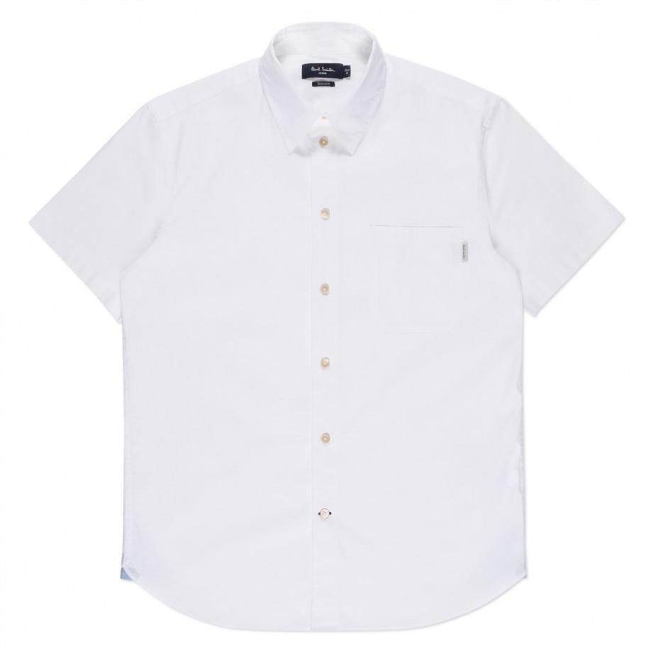 Paul Smith White Short Sleeve Shirt