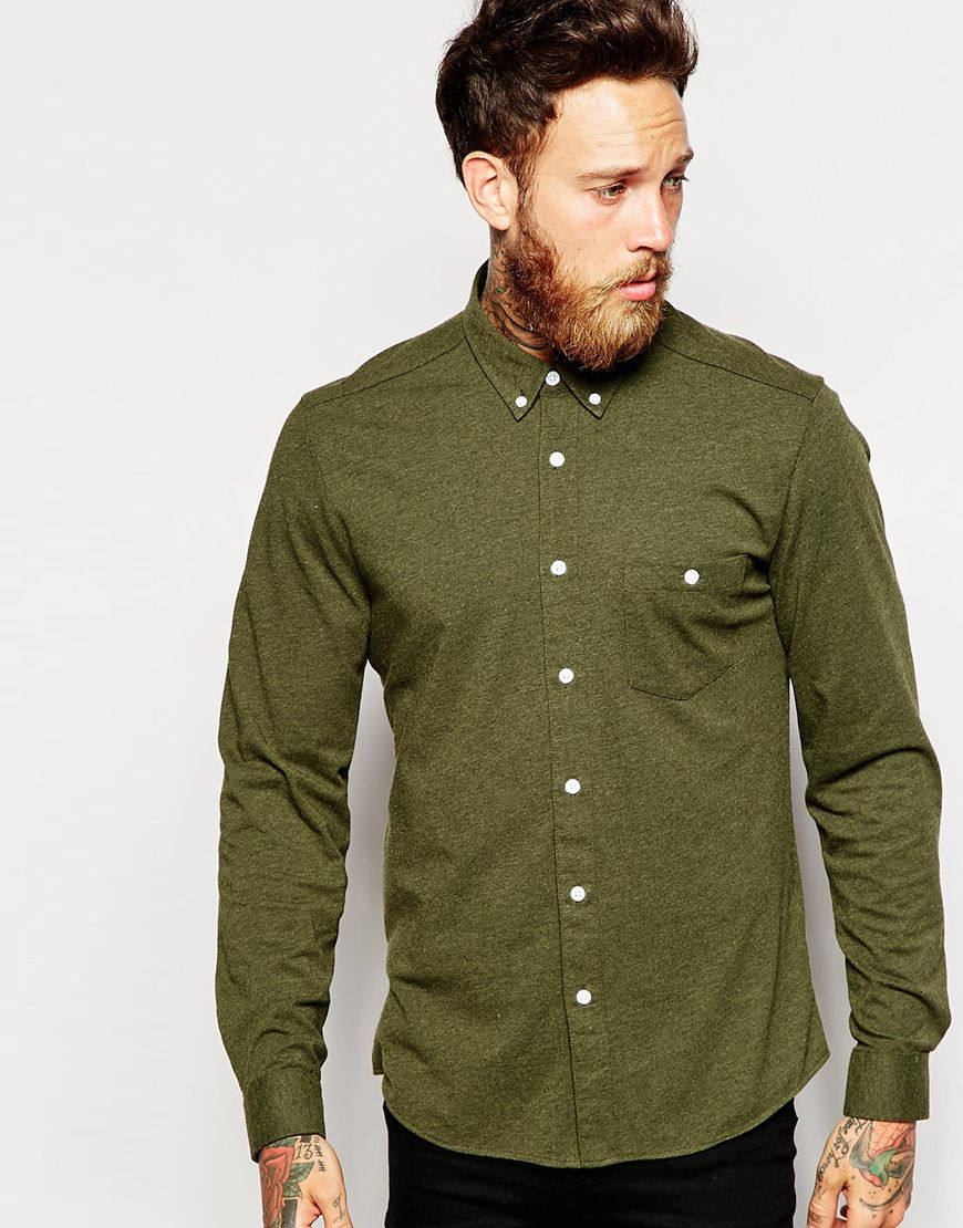 ASOS Green Shirt