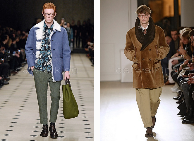AW15 Burberry Left.                                                 AW15 Dunhill Right.