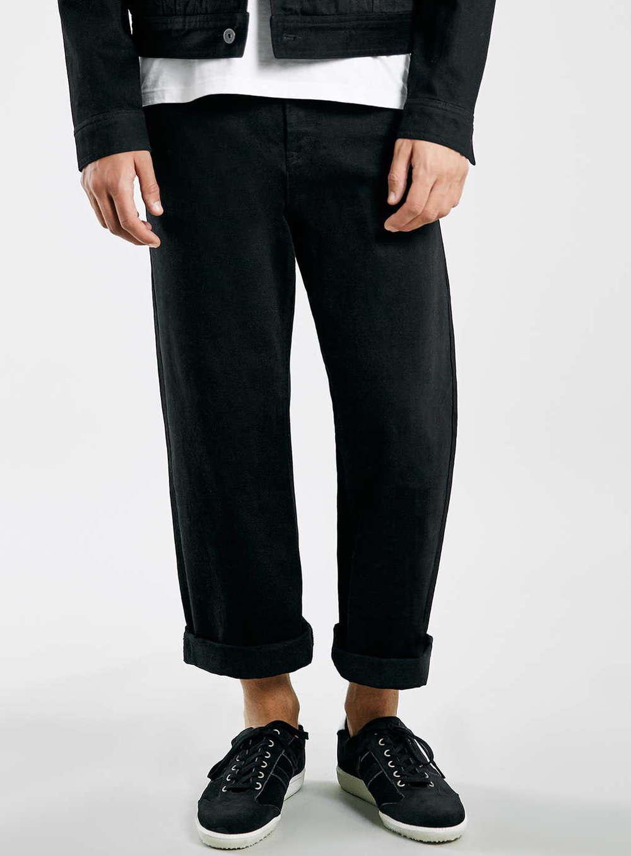 Topman Wide Leg Jeans