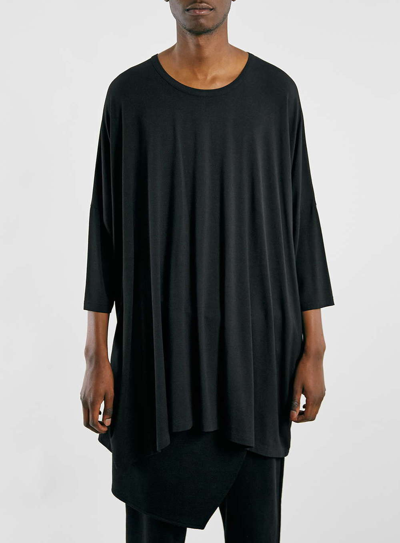 Topman Oversize Black T-Shirt