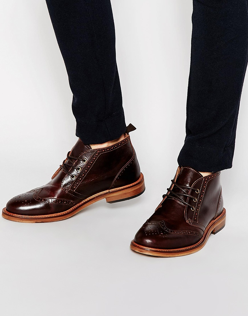 River Island Brogue Chukka Book